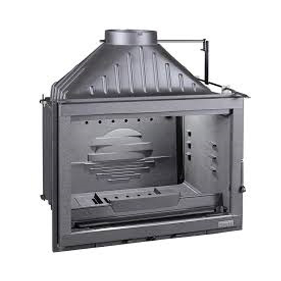 INVICTA FRANCE Wood Fireplace Wide View 70 Circuit Air Racc
